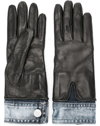 Denim detail gloves medium 4980036