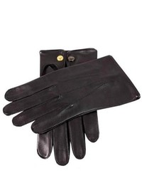 Dents Sandhurst Leather Gloves Black