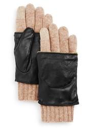 Echo Leather Glitten Tech Gloves 100% Bloomingdales