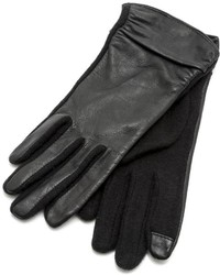Echo Leather Trim Texting Gloves