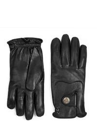 Gucci Equestrian Collection Leather Gloves