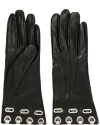 Ermanno Scervino Eyelets Embellished Gloves