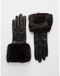 Ted Baker Fur Lined Leather Glove