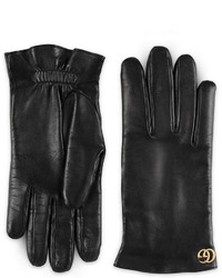 Gucci Gg Marmont Leather Gloves