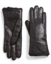 Ggf Mink Fur Leather Gloves
