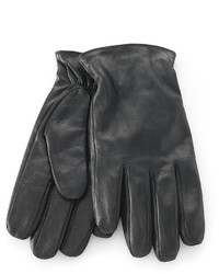 Calvin Klein Gloves Snap Leather