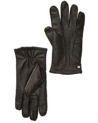 Cole Haan Handsewn Deerskin Leather Gloves
