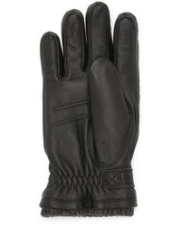 Calvin Klein Belted Leather Glove And Touch Tips Where