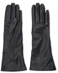 Lab Srl Cashmere Lined Leather Gloves