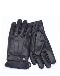Royce Leather Lambskin Leather Cellphone Tablet Touchscreen Gloves Large Black