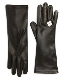 Agnelle Lambskin Leather Gloves