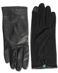 Lauren Ralph Lauren Lauren By Ralph Lauren Cut Sew Leather Back Touch Glove