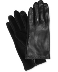 Lauren Ralph Lauren Leather Back Tech Touch Gloves