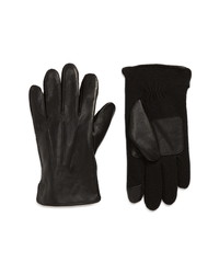 Polo Ralph Lauren Leather Hybrid Touchscreen Gloves