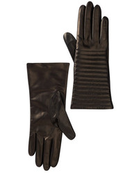 Portolano Leather Quilted Gloves