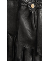 Burberry Leather Touch Screen Gloves