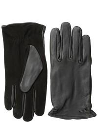 Scotch & Soda Leathersuede Gloves