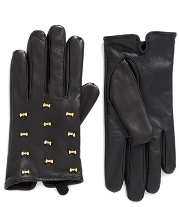 Ted Baker London Micro Bow Leather Glove