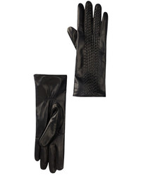 Portolano Long Woven Leather Glove