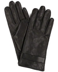 Mackage Karlita F4 Black Classic Plain Leather Gloves