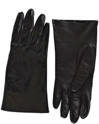 Matte Patent Leather Gloves