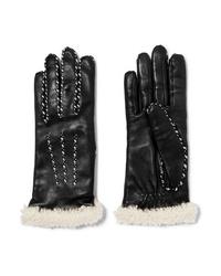 Agnelle Med Leather Gloves