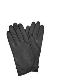 Merona Sleek Black Leather Gloves
