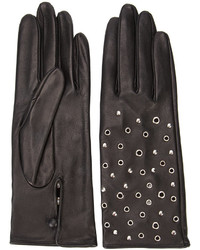 Perrin Paris Metallic Embellished Gloves