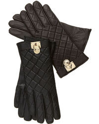 MICHAEL Michael Kors Michl Michl Kors Quilted Leather Hamilton Lock Gloves