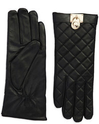 Michael Kors Michl Kors Quilted Leather Gloves