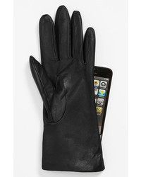 Nordstrom Fownes Brothers Basic Tech Cashmere Lined Leather Gloves