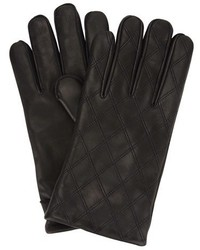 Ben Sherman Quilted Leather Gloves
