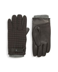 Ted Baker London Quilted Leather Gloves