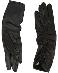 UGG Ruched Novelty Leather Smart Gloves