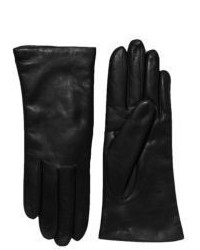 Saks Fifth Avenue Collection Cashmere Lined Leather Gloves