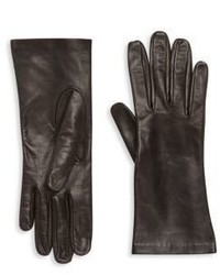 Saks Fifth Avenue Collection Silk Lined Leather Gloves