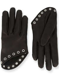 Alexander McQueen Short Embellished Gloves