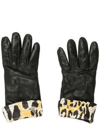 Roberto Cavalli Short Leather Gloves