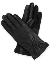 Isotoner Smartouch Stretch Leather Gloves