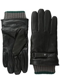 Ted Baker Two Tone Ribbed Leather Glove