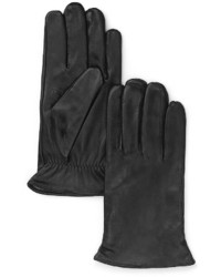 Bloomingdale's The Store At Cashmere Lined Tech Leather Gloves