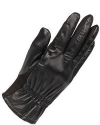 Wilsons Leather Touchpoint Leather Glove W Soft Fabric Palm S Black