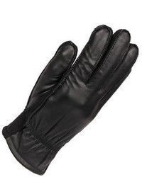 Wilsons Leather Touchpoint Leather Glove W Soft Fleece Palm S Black