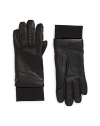 Canada Goose Touchscreen Compatible Leather Gloves