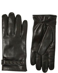 Valentino Studded Nappa Leather Gloves