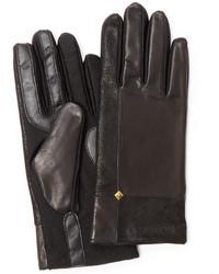 Isotoner Vintage Nappa Stretch Leather Gloves
