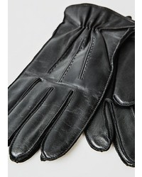 Mango Wool Lining Leather Gloves