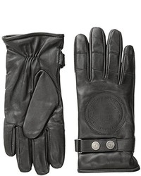 Armani Jeans Zb Leather Moto Gloves