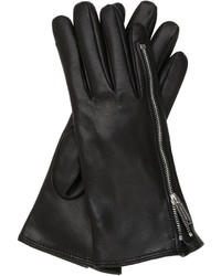 Dsquared2 Zip Up Nappa Leather Gloves