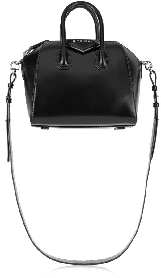 af0ead88cd4c ... Givenchy Antigona Small Leather Tote Black ...